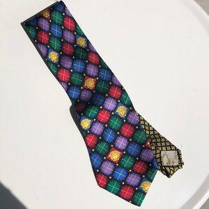 Vintage Versace Silk Tie